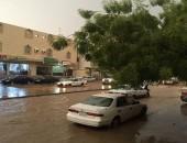 أمطار غزيرة على مكة وضواحيها