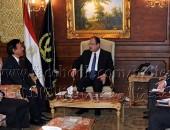 وزيرالداخليةالمصري السيد مجدى عبد الغفار  يلتقى السفير اليابانى لدى القاهرة لتطوير التعاون الأمنى