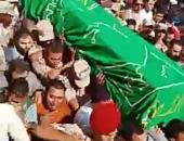 في مشهد مهيب محافظ الشرقية و قيادات عسكرية يشيعون جنازة الشهيد /نقيب أحمد عمار