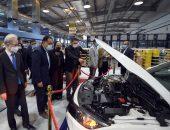 """رئيس الوزراء يتفقد مصنع """" """"إس إي ويرنج سيستمز ايجيبت"""" لإنتاج الضفائر الإلكترونية للسيارات ببورسعيد"""