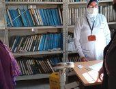 مديرة «صحة ابشواى » تفاجئ الوحدات الصحية بالزيارة