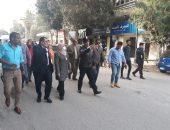 نائب محافظ القاهرةللمنطقةالجنوبيةتتابع بدء تنفيذ خطة تطوير شوارع وميادين حى المعادى ميدانيا