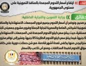 شائعة:  ارتفاع أسعار اللحوم المجمدة بالمنافذ التموينية على مستوى الجمهورية