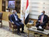 وزير العدل المصري يستقبل سفير المملكة الأردنية الهاشمية بالقاهرة