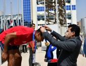 وزير الرياضة يكرم الفائزين لمنافسات تارجت سبرنت ضمن البطولة العربية للرماية