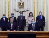 رئيس الوزراء يشهد مراسم توقيع 3 بروتوكولات تعاون لاستخدام مساحات من الأراضي القابلة للزراعة بمحافظة الوادي الجديد لصالح محافظات كفر الشيخ والغربية والمنوفية