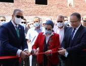 وزيرةالبيئةومحافظ الفيوم يفتتحان مشروع تحويل المخلفات إلى طاقة عن طريق التغويز اللاهوائي بالفيوم