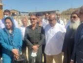 وفد من النواب أعضاء لجنة الاعلام والثقافة و الآثار يتفقد منطقة آثار أبو مينا بالاسكندرية
