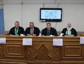 نائب رئيس جامعة الأزهر يناقش رسالة دكتوراة  في مجال زراعة الأسنان بالفك النحيف بالأجهزة الحديثة.