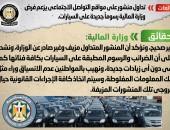 شائعة:  تداول منشور على مواقع التواصل الاجتماعي يزعم فرض وزارة المالية رسوماً جديدة على السيارات