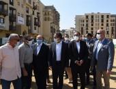 رئيس الوزراء يتفقد مشروع تطوير سور مجرى العيون والمنطقة المحيطة به