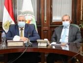وزير الزراعة يبحث مع رئيس البورصة سبل تطوير آليات تداول عدد من السلع الاستراتيجية من خلال البورصة السلعية