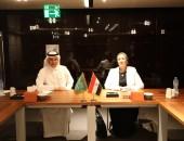 على هامش الدورة ال 32 لمجلس وزراء البيئة العرب :  وزيرة البيئة تلتقى نظيرها السعودى لتعزيز سبل التعاون البيئى ببن البلدين