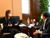 وزيرة التخطيط والتنمية الاقتصادية تناقش مع سفير تايلاند مجالات جذب المستثمرين التايلانديين للاستثمار في مصر